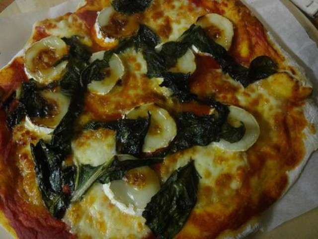 Recettes de pizza et ch vre 5 - Cuisiner blettes feuilles ...