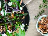 Warm Roast Beetroot, Asparagus & Lentil Salad
