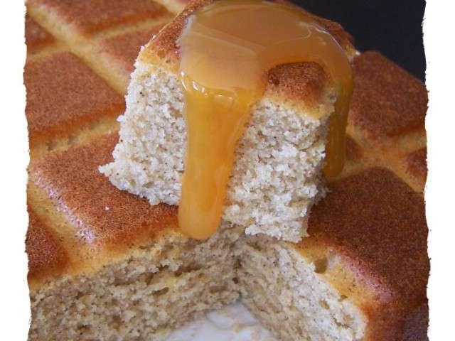 Recettes de g teau moelleux et caramel - La petite cuisine d audrey ...