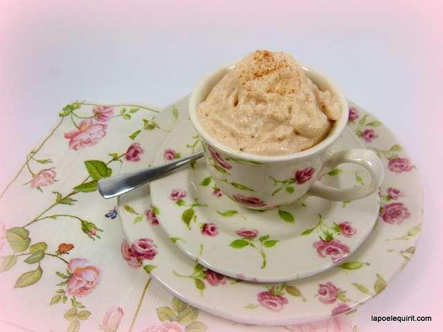Recettes de mousses et siphon - Mousse a la creme de marron ...