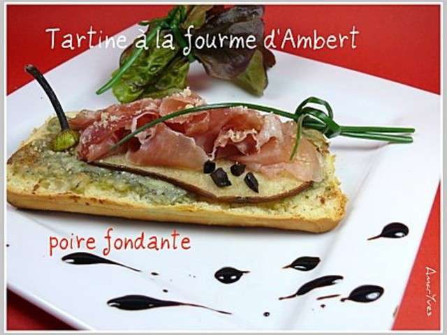 les meilleures recettes de tartines et jambon. Black Bedroom Furniture Sets. Home Design Ideas