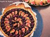 Tarte myrtilles & figues