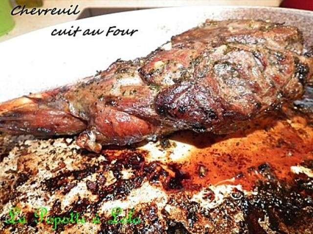 Les meilleures recettes de chevreuil - Cuisiner du chevreuil au four ...