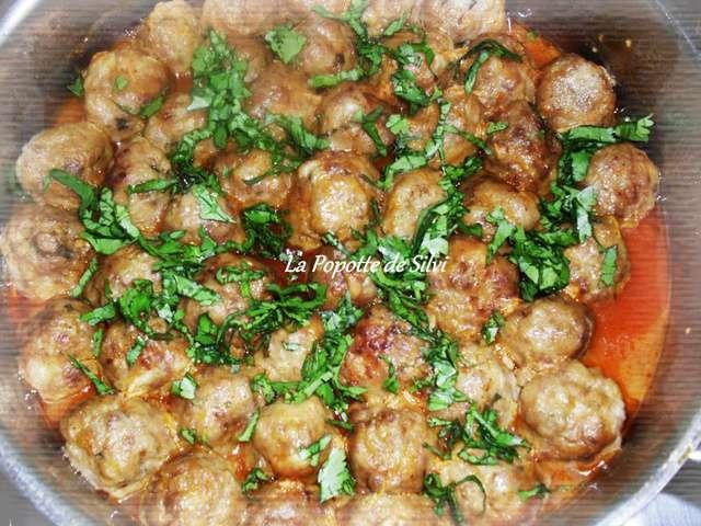 Les meilleures recettes de boulettes et ail - Comment cuisiner les boulettes de viande ...