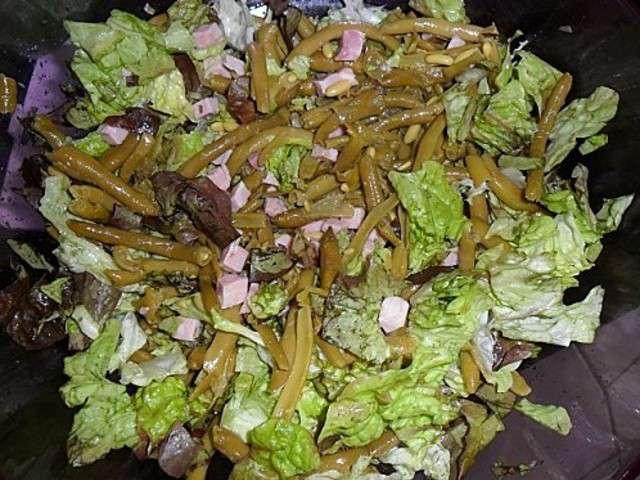 Les meilleures recettes de salade de haricot et jambon - Quand repiquer les salades ...