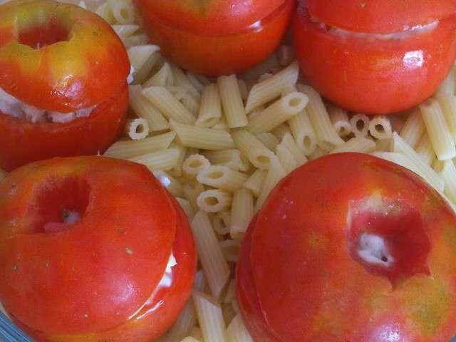 Recettes de tomates farcies de la ptite cuisine de lily - La ptite cuisine ...