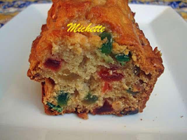 Cake Raisin Fruits Confits Rhum