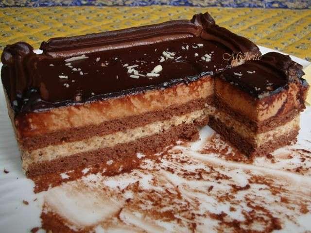 Gateau Genoise Chocolat Anniversaire
