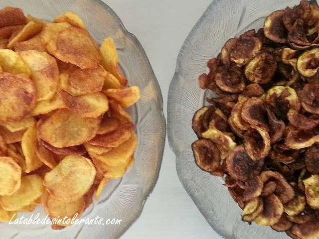 recettes de chips de pomme de terre. Black Bedroom Furniture Sets. Home Design Ideas