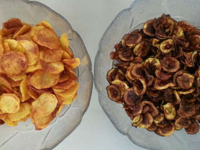 les meilleures recettes de chips de pomme de terre. Black Bedroom Furniture Sets. Home Design Ideas