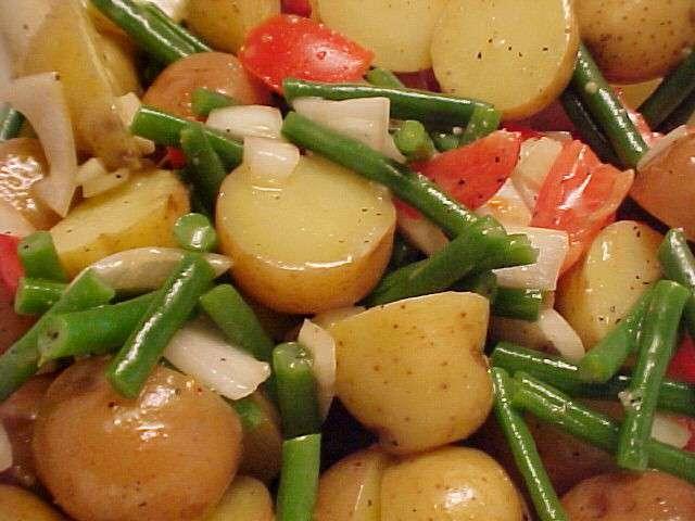 les meilleures recettes de salades et pomme de terre. Black Bedroom Furniture Sets. Home Design Ideas