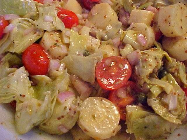 Recettes d 39 artichauts de la table en f te - Cuisiner coeur d artichaut ...
