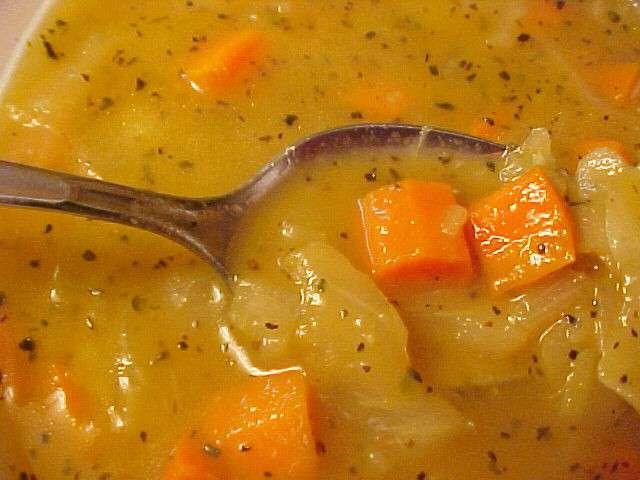 Soupe aux choux - Table de visite pomme de terre ...