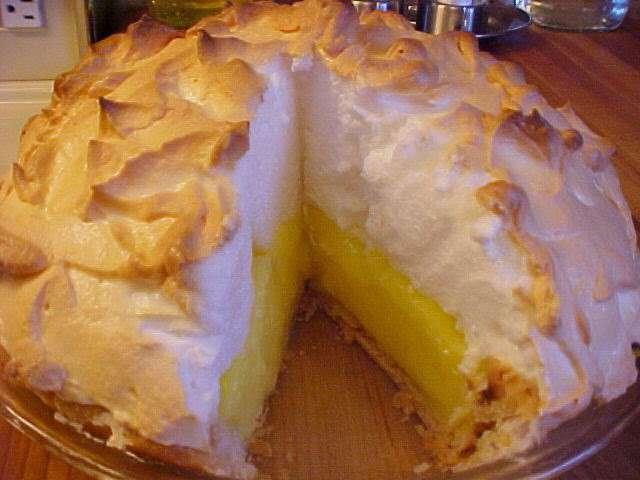Recettes de tarte au citron meringu e 6 - Recette tarte au citron sans meringue ...