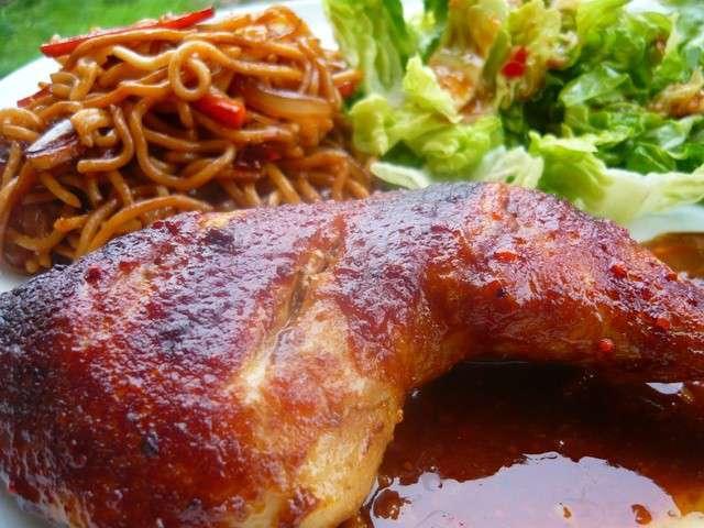 les meilleures recettes de sauce d 39 hu tre et poulet. Black Bedroom Furniture Sets. Home Design Ideas