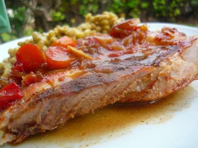 Rouelle de porc recette - Cuisiner rouelle de porc ...