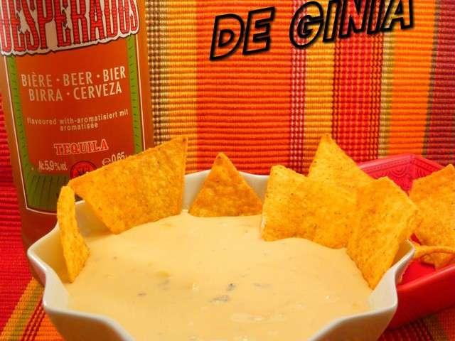 Les meilleures recettes de nachos et sauces - Sauce fromage pour tacos ...