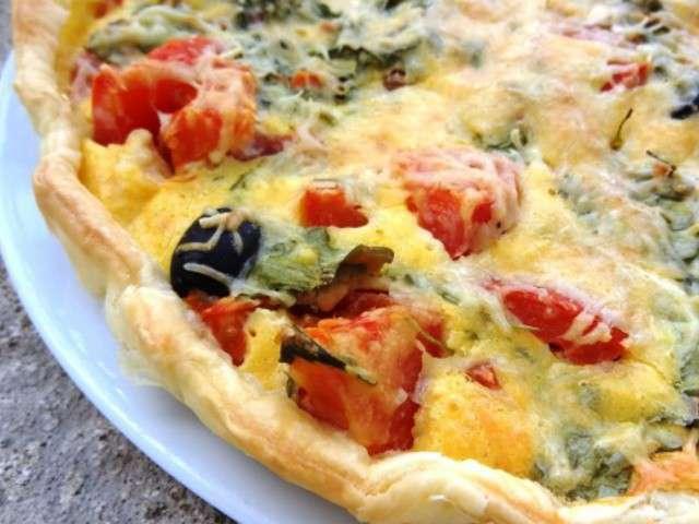 Les meilleures recettes de quiches et tomates 9 for Cuisine de quiches originales et gourmandes