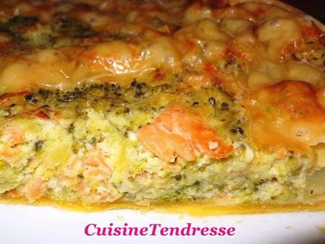 Recettes de brocolis et saumon 8 for Cuisine de quiches originales et gourmandes