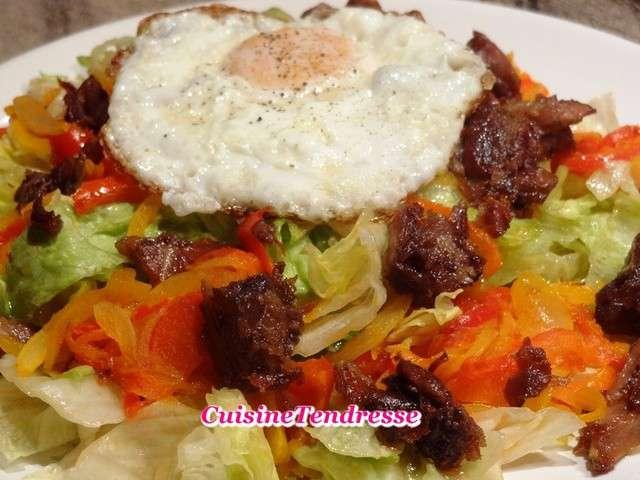 Recettes de salade gourmande 3 - France 3 cuisine gourmande ...