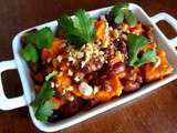 Sweet potatoes, red kidney bean and peanuts (Afrique du sud)