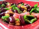 Salade de haricots rouges