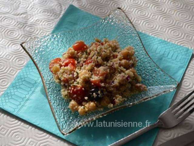 Recettes de taboul de la tunisienne for Cuisine olfa