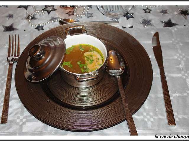 recettes de pot au feu et foie gras