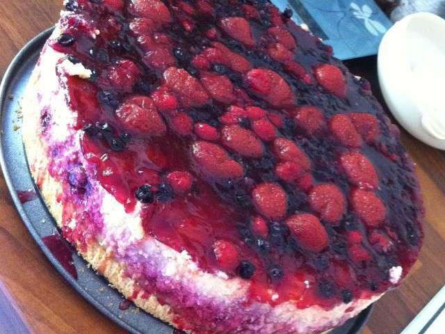 recettes de cheesecake et fruits rouges. Black Bedroom Furniture Sets. Home Design Ideas