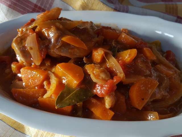 Recettes de dinde - Cuisine italienne osso bucco ...