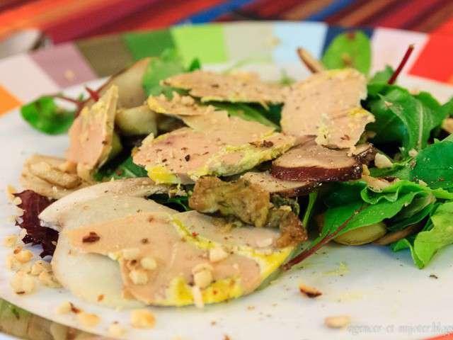 Recettes de foie gras et salades - Recette de foie gras ...