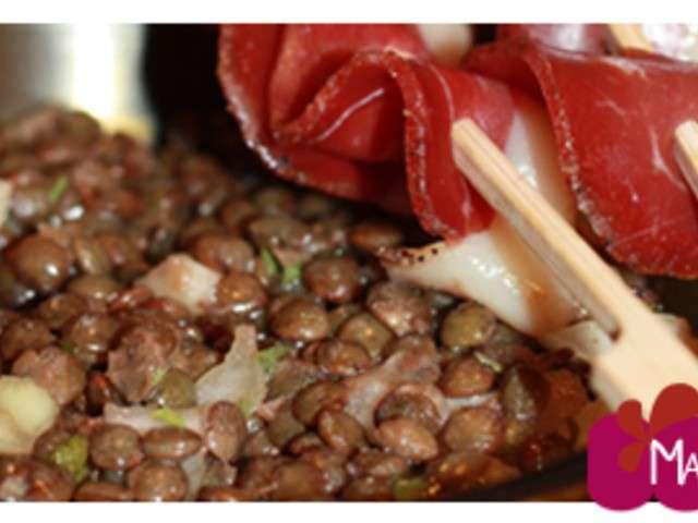 Recettes de salade de lentilles et canard - Quand repiquer les salades ...