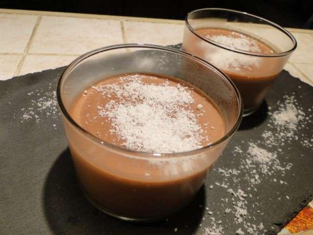 Recettes de cr mes et lait 25 - Creme au chocolat maison ...