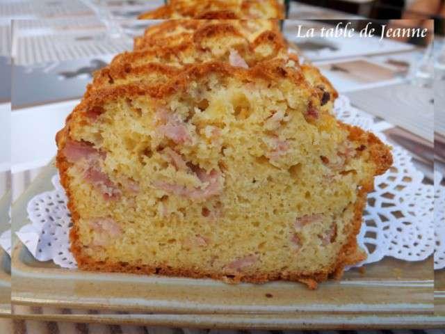 Recette Cake Jambon A L Ancienne