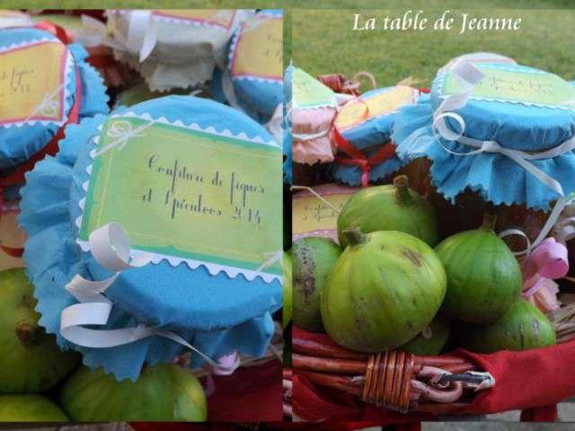 Recettes de confiture de figues 5 - Confiture de figues blanches ...