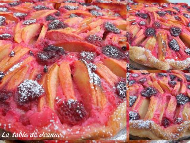 Recettes de confiture de fraise et pomme - Tarte aux pommes compote maison ...