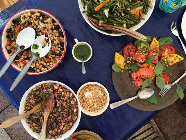 Recettes de lentilles vertes et salades - Comment cuisiner les lentilles vertes ...