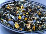Moules marinieres au curry
