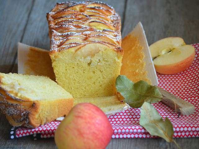 recettes de cake aux pommes et vanille. Black Bedroom Furniture Sets. Home Design Ideas