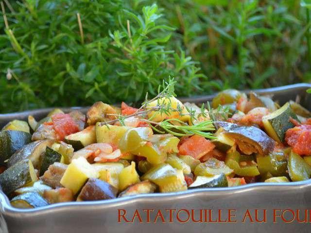 Recettes de ratatouille et cuisine au four - C est au programme cuisine ...