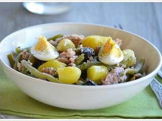 recettes de salade de haricots verts