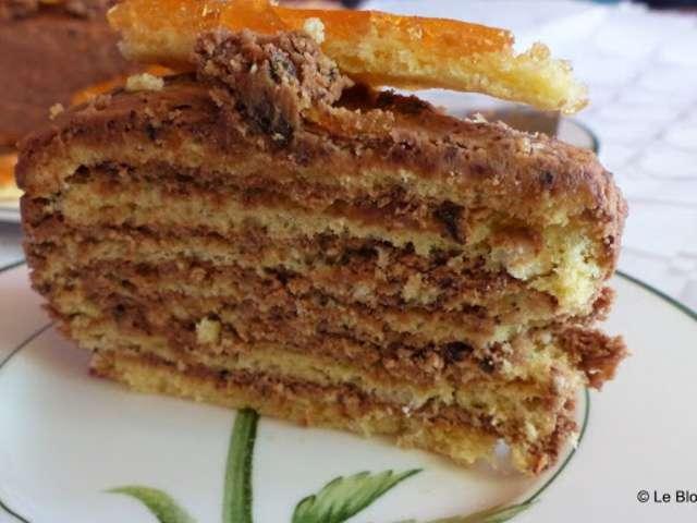 Recettes de Gâteau Hongrois