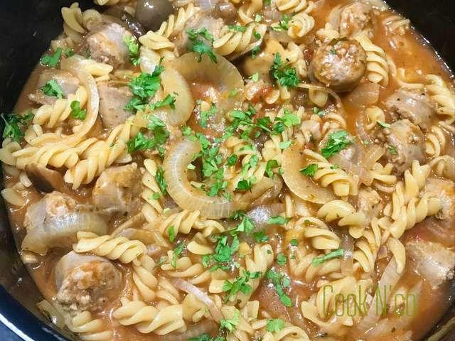 Bien-aimé Recettes d'One pot pasta et Saucisse IA27