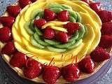 tarte mangue fraise