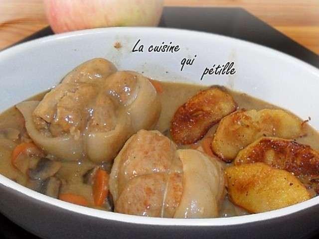 Recettes de paupiettes de veau et pomme - Cuisine paupiette de veau ...
