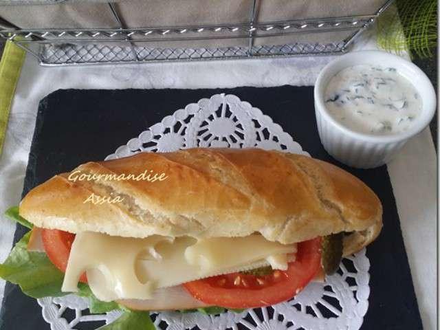 Recettes de baguette et pain 3 - Recette sandwich froid baguette ...