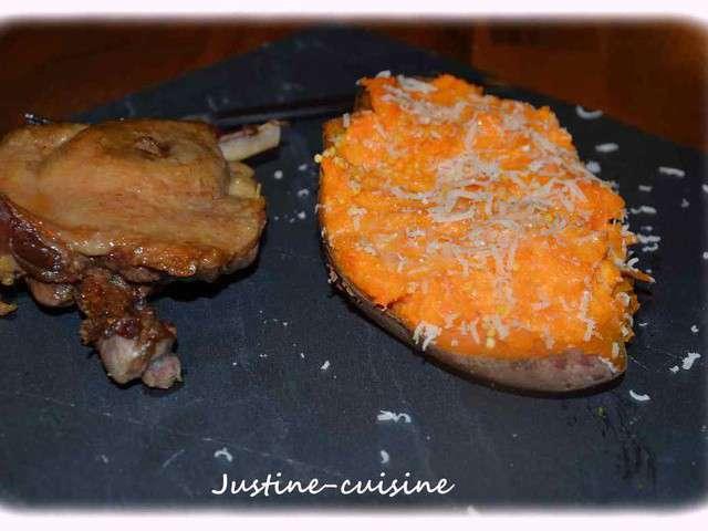recettes de patate douce de le blog de justine cuisine. Black Bedroom Furniture Sets. Home Design Ideas