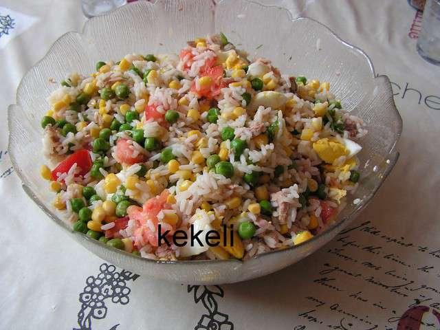 Recettes de salade de riz et petits pois - Comment cuisiner les petits pois ...