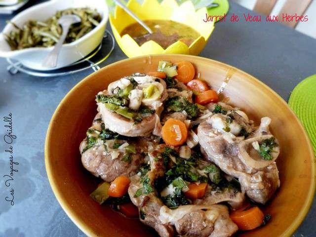 Recettes de jarret de veau de le blog de les voyages de - Cuisiner un jarret de veau ...