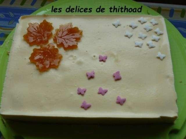dessert creme fleurette
